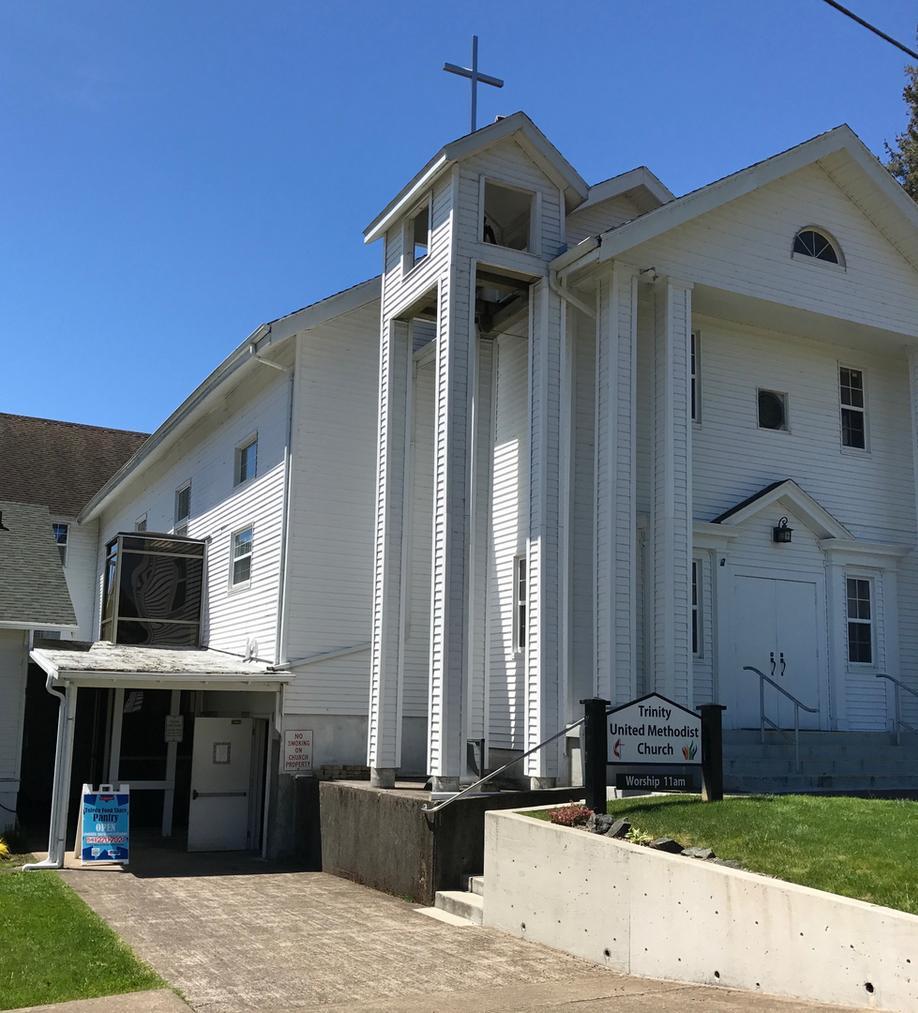 Trinity United Methodist Church, Toledo, Oregon